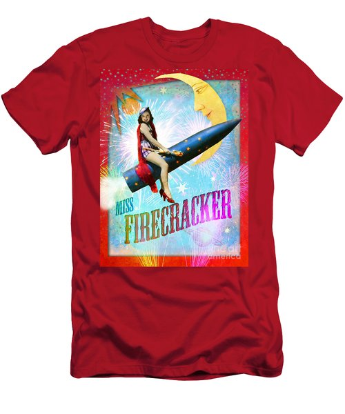Miss Fire Cracker Men's T-Shirt (Athletic Fit)