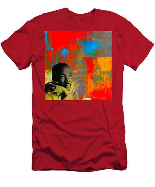 Mlk Dreams Men's T-Shirt (Athletic Fit)
