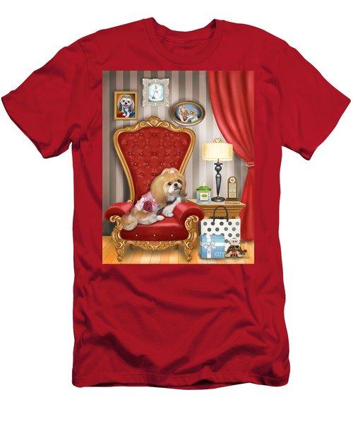 Mocha S Living Room Men's T-Shirt (Athletic Fit)