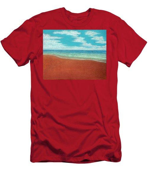 Moonset A Men's T-Shirt (Athletic Fit)
