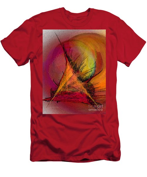 Moonstruck-abstract Art Men's T-Shirt (Athletic Fit)