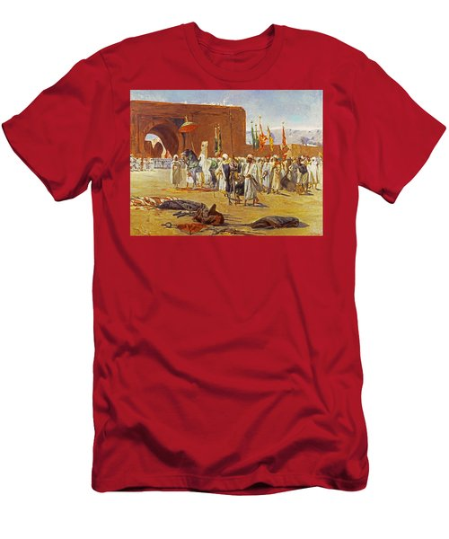 Moorish Procession Men's T-Shirt (Athletic Fit)