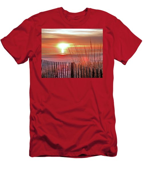 Morning Sandfire Men's T-Shirt (Athletic Fit)