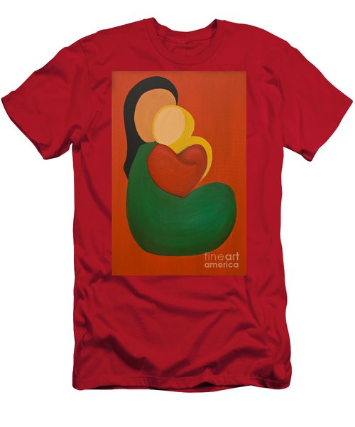 Mother And Child Men's T-Shirt (Athletic Fit)