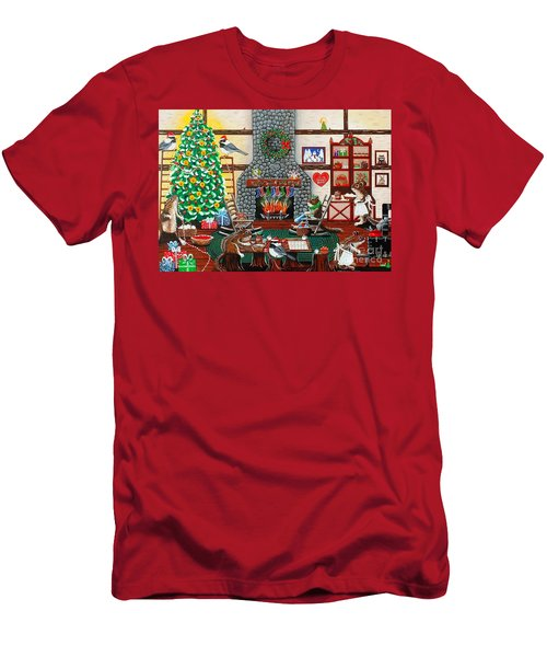 Ms. Elizabeth's Holiday Home Men's T-Shirt (Athletic Fit)