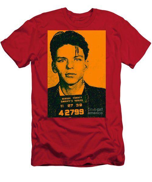Mugshot Frank Sinatra V1 Men's T-Shirt (Athletic Fit)