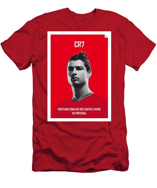 My Ronaldo Soccer Legend Poster Men's T-Shirt (Athletic Fit)