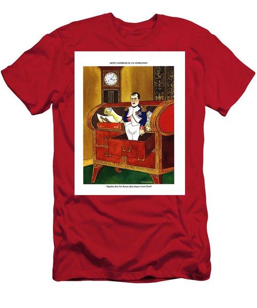 Napoleon Dans Son Bureau Apres Jacques-louis David Men's T-Shirt (Athletic Fit)
