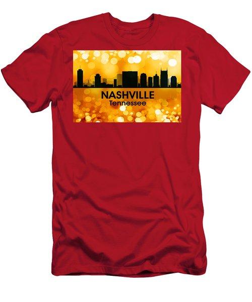 Nashville Tn 3 Men's T-Shirt (Athletic Fit)