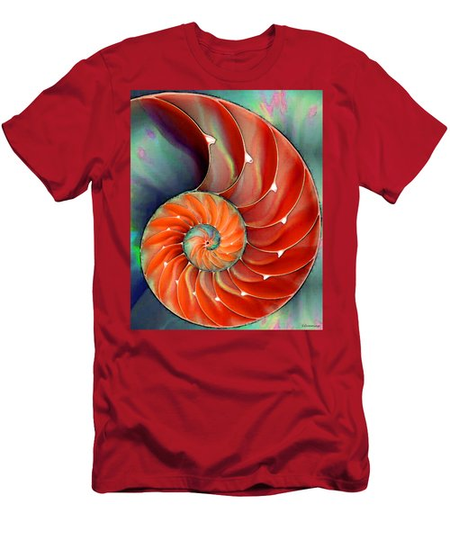 Nautilus Shell - Nature's Perfection Men's T-Shirt (Athletic Fit)