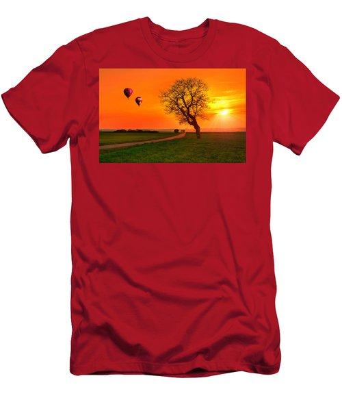 Never Ending Road Men's T-Shirt (Athletic Fit)