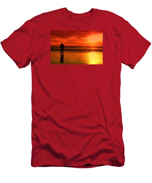 New Year's Love By Diana Sainz Men's T-Shirt (Athletic Fit)