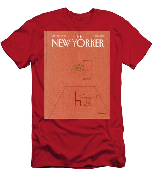 New Yorker April 14th, 1986 Men's T-Shirt (Athletic Fit)