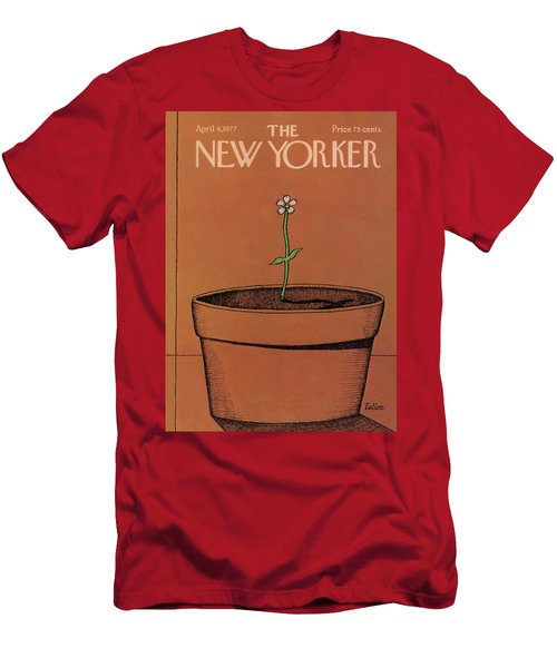 New Yorker April 4th, 1977 Men's T-Shirt (Athletic Fit)