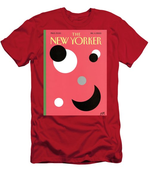 New Yorker December 11th, 2000 Men's T-Shirt (Athletic Fit)