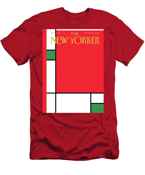 New Yorker December 22nd, 2008 Men's T-Shirt (Athletic Fit)