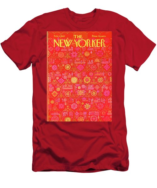New Yorker February 11th, 1967 Men's T-Shirt (Athletic Fit)