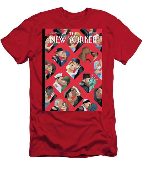New Yorker February 14th, 2000 Men's T-Shirt (Athletic Fit)