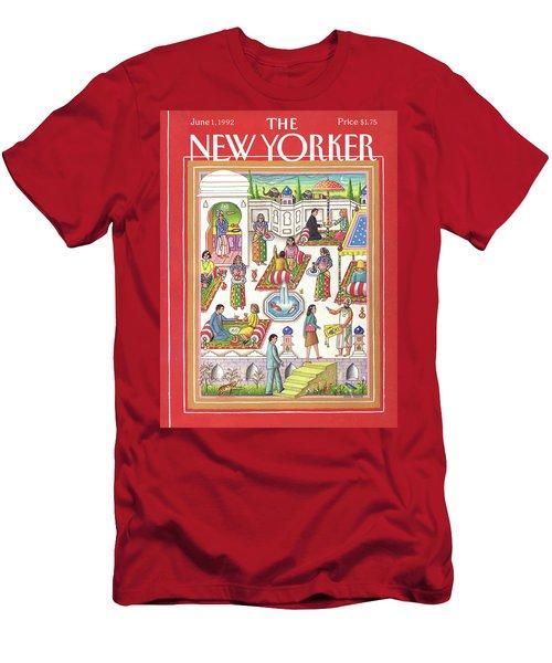 New Yorker June 1st, 1992 Men's T-Shirt (Athletic Fit)