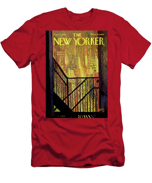 New Yorker September 21st, 1968 Men's T-Shirt (Athletic Fit)