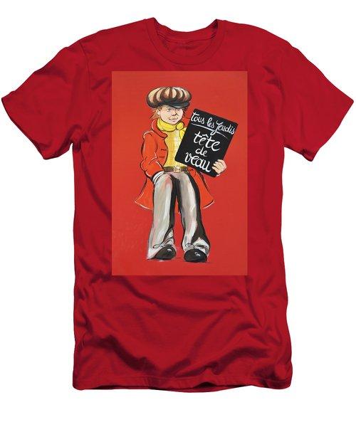 Newsboy Men's T-Shirt (Athletic Fit)