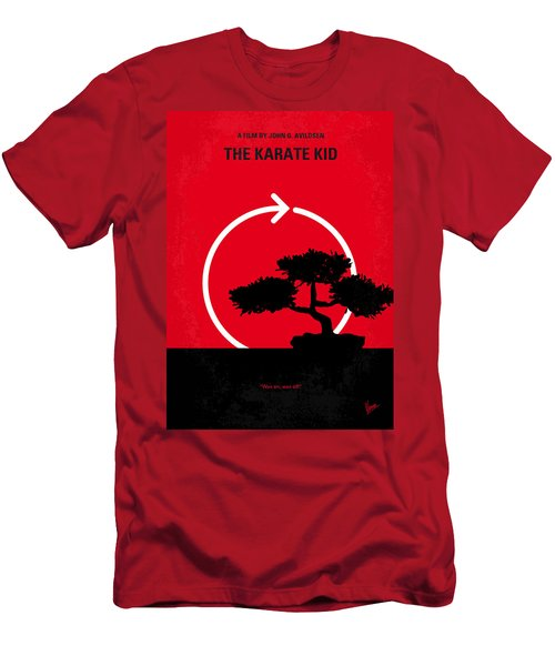 No125 My Karate Kid Minimal Movie Poster Men's T-Shirt (Athletic Fit)