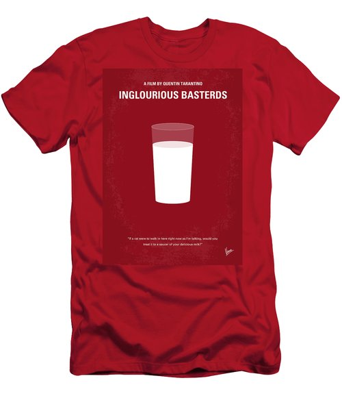 No138 My Inglourious Basterds Minimal Movie Poster Men's T-Shirt (Athletic Fit)