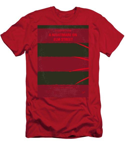 No265 My Nightmare On Elmstreet Minimal Movie Poster Men's T-Shirt (Athletic Fit)
