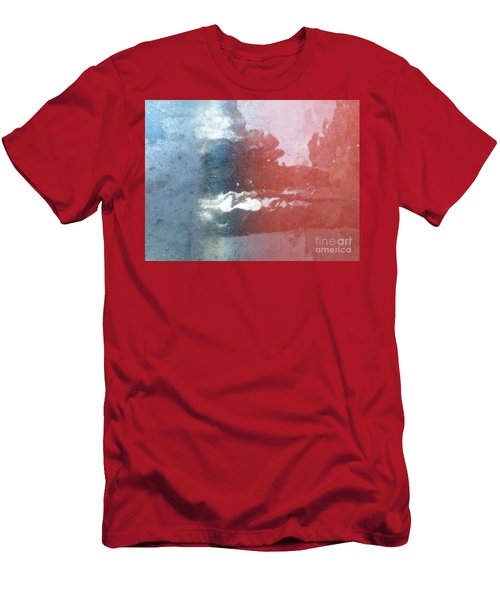 Men's T-Shirt (Slim Fit) featuring the photograph Not Making Violet by Brian Boyle