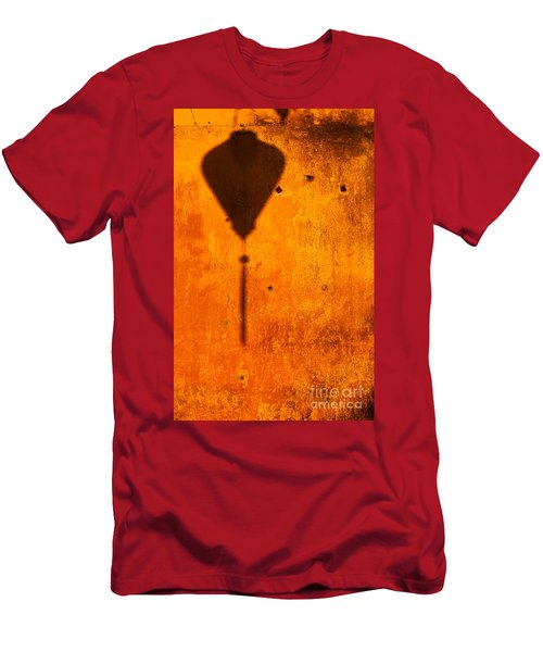 Ochre Wall Lantern Shadow Men's T-Shirt (Athletic Fit)