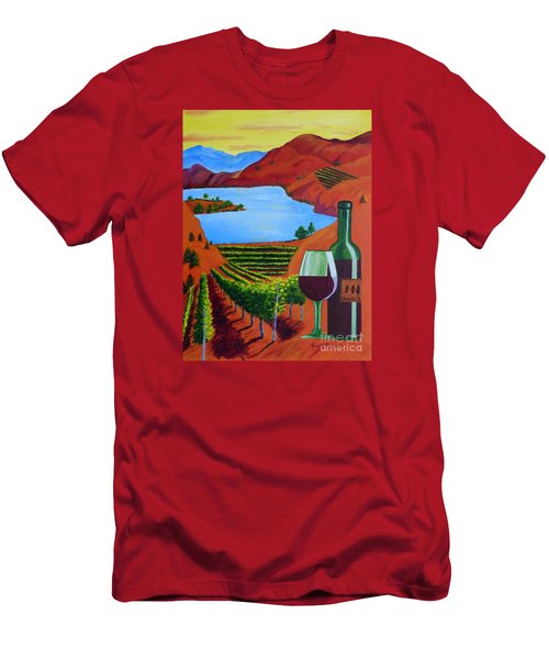 Okanagan Wine Country Men's T-Shirt (Athletic Fit)