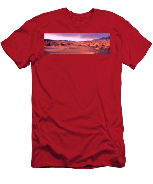 Olancha Sand Dunes, Olancha Men's T-Shirt (Athletic Fit)