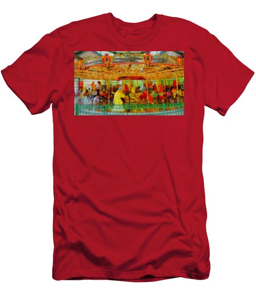 On The Carousel Men's T-Shirt (Athletic Fit)