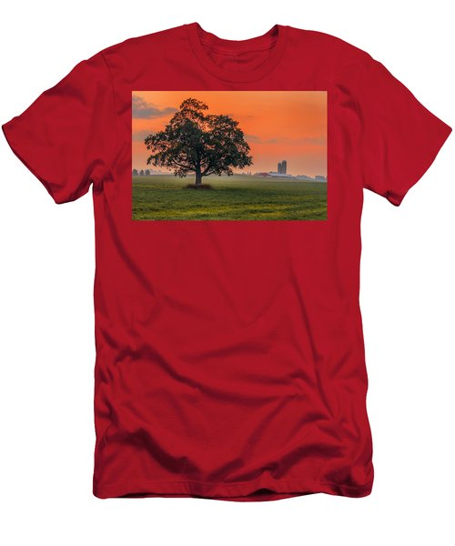 Men's T-Shirt (Athletic Fit) featuring the photograph One Fine Morning by Garvin Hunter