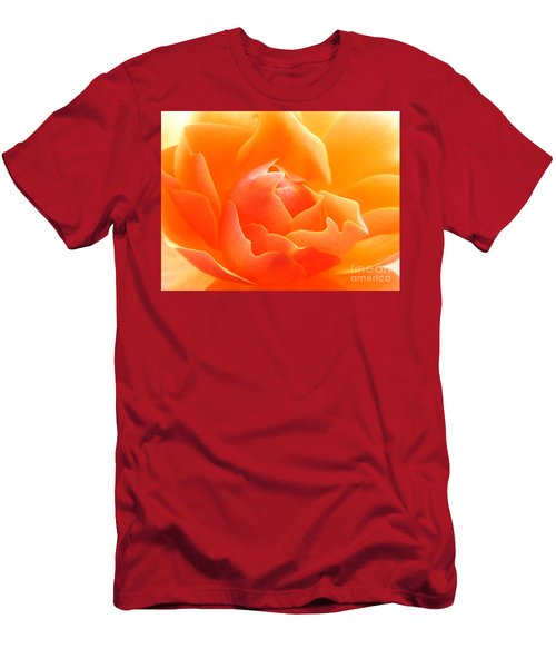 Orange Sherbet Men's T-Shirt (Athletic Fit)