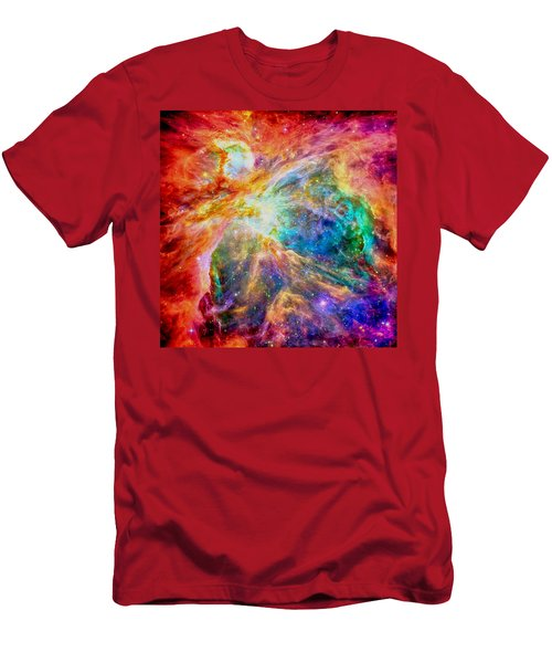 Orions Heart-where The Stars Are Born Men's T-Shirt (Athletic Fit)