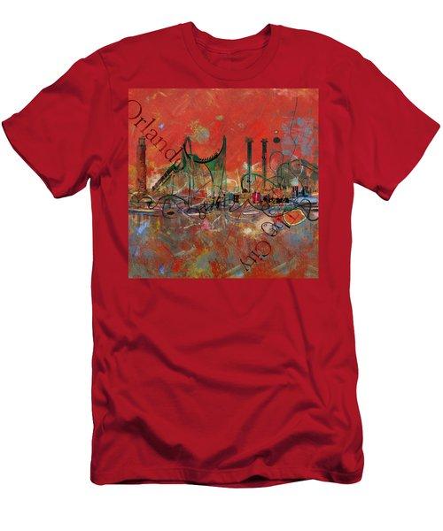 Orlando City Collage 2 Men's T-Shirt (Athletic Fit)