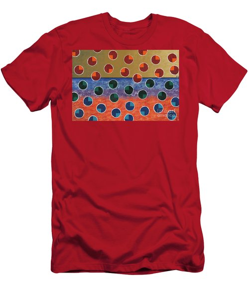 Pacman Zombies Awaking At Sun-rise Men's T-Shirt (Slim Fit) by Jeremy Aiyadurai