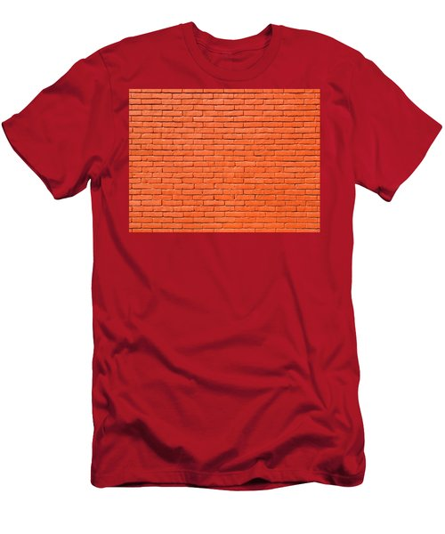 Painted Brick Wall Men's T-Shirt (Athletic Fit)