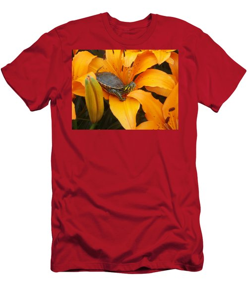 Painted Lilly Men's T-Shirt (Athletic Fit)