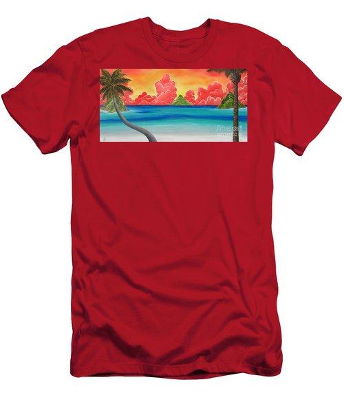 Paradise Panorama Men's T-Shirt (Athletic Fit)