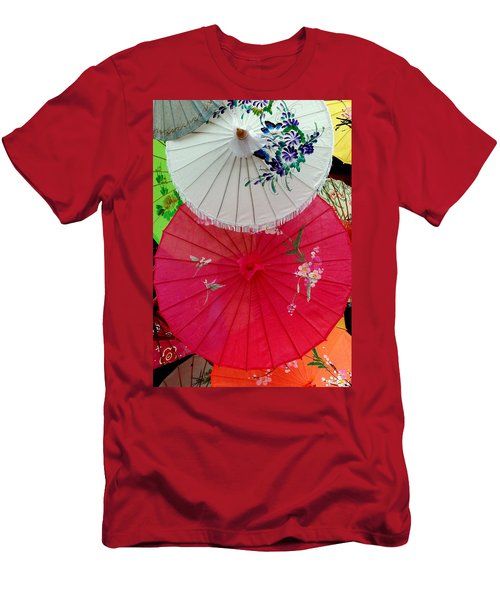 Parasols 1 Men's T-Shirt (Athletic Fit)