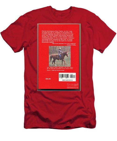 Pardee Holler The Back Cover Men's T-Shirt (Athletic Fit)