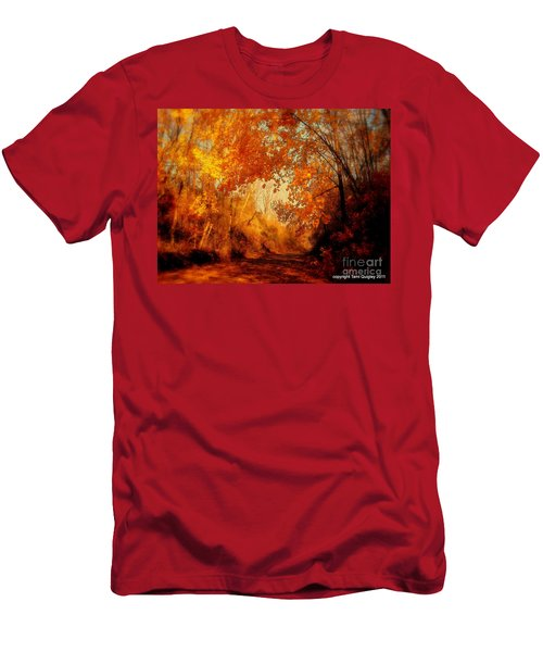 Path Of Gold Men's T-Shirt (Athletic Fit)