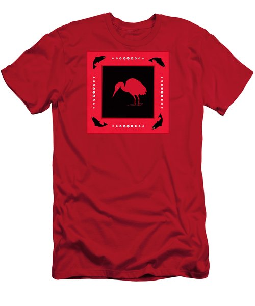Men's T-Shirt (Slim Fit) featuring the photograph Peace And Plenty Button Blanket by I'ina Van Lawick