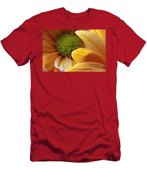Peeking Through Men's T-Shirt (Athletic Fit)