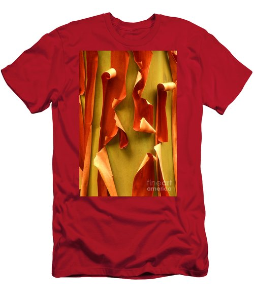 Peeling Bark Pacific Madrone Tree Washington Men's T-Shirt (Athletic Fit)