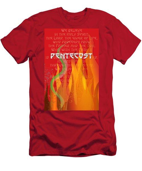 Pentecost Fires Men's T-Shirt (Athletic Fit)