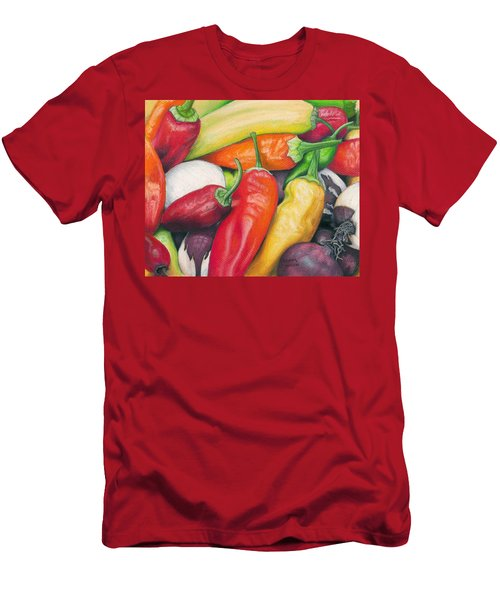 Peppers And Onions Men's T-Shirt (Athletic Fit)