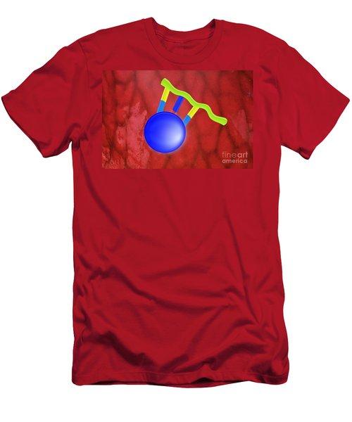 Peptide, Artwork Men's T-Shirt (Athletic Fit)